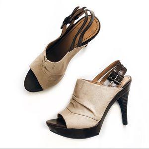 NINE WEST • nwwalton platform peep toe heels